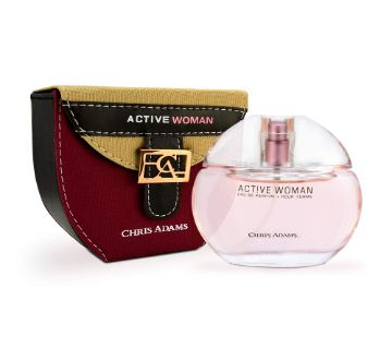 Chris Adams Perfumes Hot Active Woman Perfume for Women, Platinum Collection-80ml-UAE