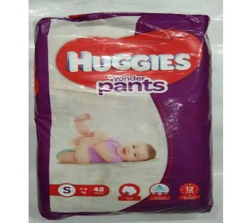 Huggies wonder pants S(4-8kg) 42psc India