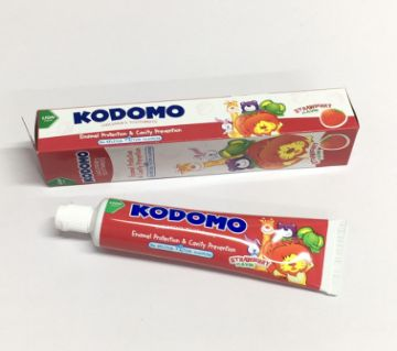 Kodomo Baby Tooth Paste Strawberry-40gm-Thailand