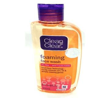 Clean & clear foaming face wash-100gm-India