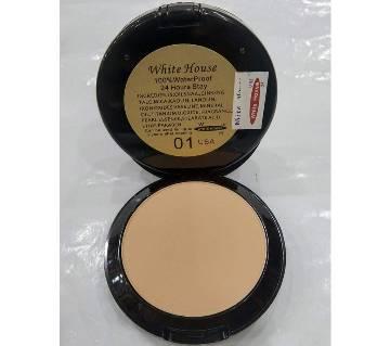 White house 100% waterproof 24H stay matte face powder no 01 0.13 gm USA