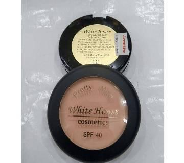 White house 100% waterproof 24H stay matte face powder no 02 0.13 gm USA