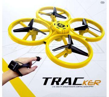 Tracker Drone 2.4G Gravity Sensor Remote Control Quacopter