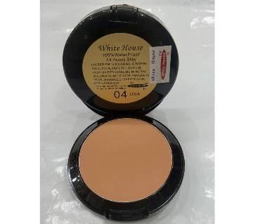 White house 100% waterproof 24H stay matte face powder no 04  0.13 gm USA