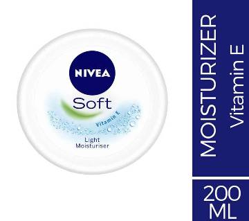 NIVEA Soft Light Moisturising Cream, 200ml Thailand