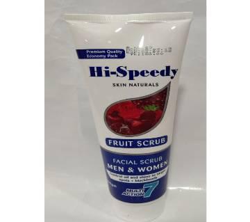 Hi-speedy facial fruit scrub 250 ml china