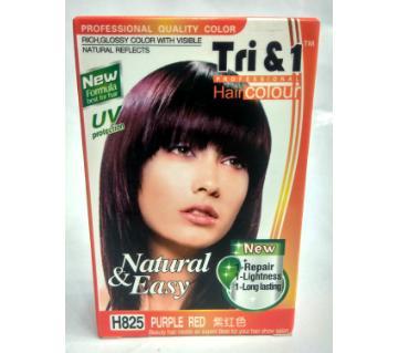 purple red hair colour 70 ml China