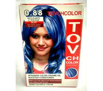 blue hair colour 60 ml China