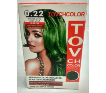 green hair colour 60 ml China