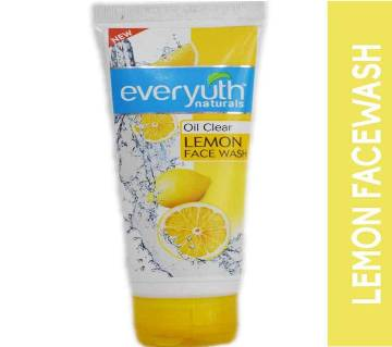 Everyuth naturals oil clear lemon face wash-100gm-India
