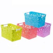 Plastic Storage Basket - 1 Piece