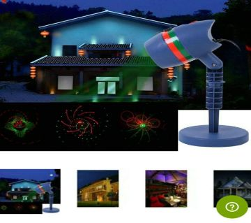 LED Motion Laser Light