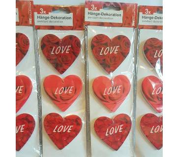 Heart Pendant Decoration