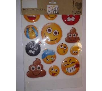 POP-UP Wall Sticker set