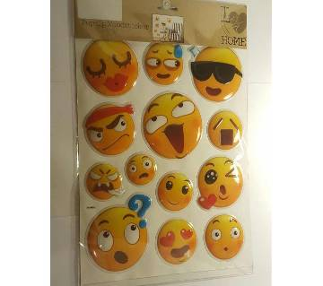 POP-UP Emoji Wall Sticker