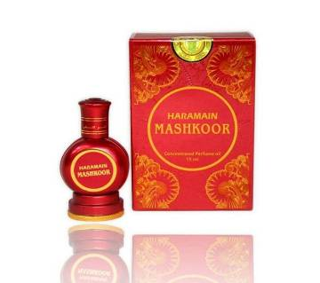 Al Haramain Mashkoor - Alcohol Free Attar (15 ml) U.A.E