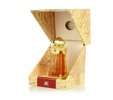 Al Haramain Al Buraq Fragrance Pure Original Perfume Oil (Attar)-Oudh - 30 ml U.A.E