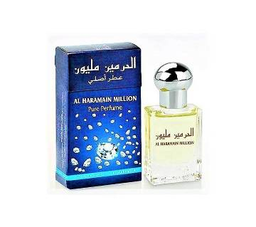 Al Haramain Million Roll-On Perfume 15ml (Alcohol-Free) Dubai