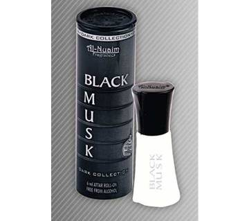 BLACK MUSK PERFUME - BY AL NUAIM [ 6ML ] India