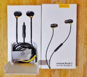 realme buds 2 earphone