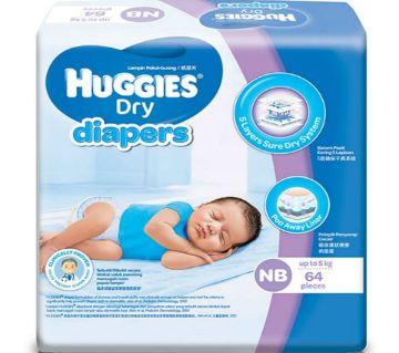 HUGGIES Dry Baby Diaper (NB) - Malaysia