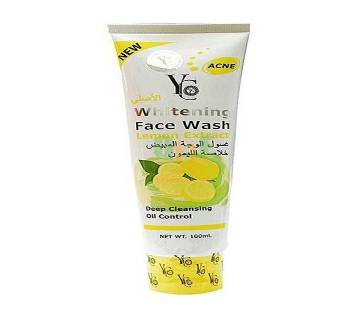 Yc whitening face wash lemon extract  100ml  Thailand