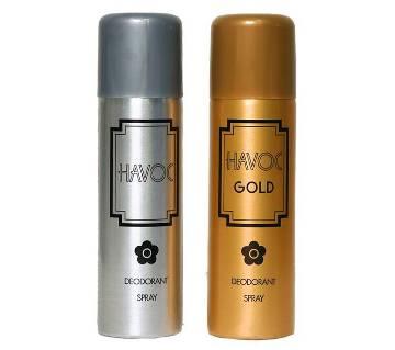 Havoc Gold Deodorant Spray for Men 200ml - UK