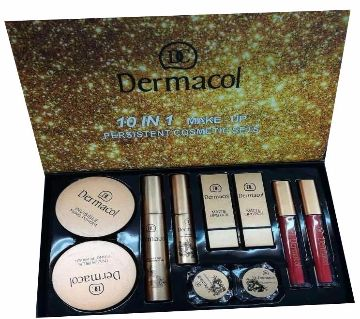 DERMACOL 10 In 1 Makeup Set Malaysia