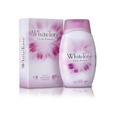 White tone face powder