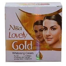 Nisa Lovely Gold Whitening Cream - 30ml - Pakistan