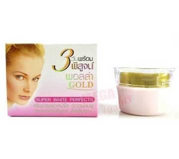 GOLD Whitening Cream SUPER WHITE PERFECT 10g Thailand