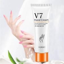 Rorec V7 lazy lady moisturizing hand whitening cream tube 60g Thailand