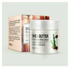 Bioaqua Body Scrub Face Exfoliator shea butter 120g Thailand