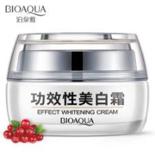 BIOAQUA Effect Whitening Cream Moisturizing Delicate Smooth Skin Care 30g Thailand