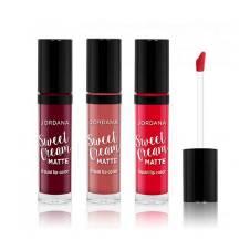 Jordana Sweet Cream Matte Liquid Lipstick - 07 Tiramisu - 3gm  USA