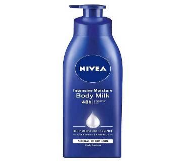 NIVEA Intensive Moisture Body Milk 48h Smoother Skin 400ml UAE