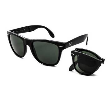 Ray-Ban Black Folding Sunglasses for Men