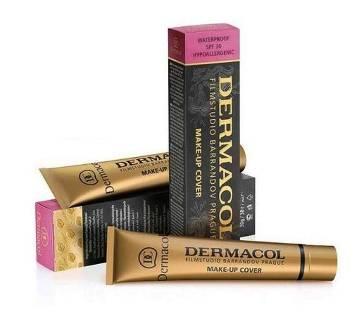 DERMACOL FILM STUDIO BARRANDOV PRAGUE Dermacol makeup cover SPF30 Foundation, 60ml, POLAND