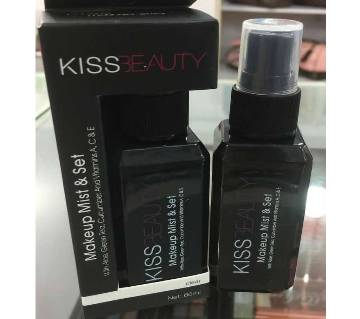 kiss beauty makeup mist set, 60ml, china