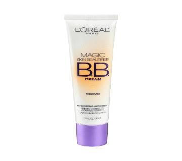 LOreal Paris Makeup Magic Skin Beautifier BB Cream Tinted Moisturizer Face Makeup, DEEP 30ml UK