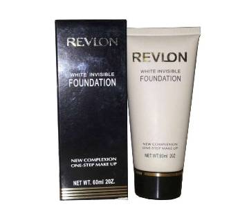 Revlon White Invisible Foundation New Complexion One Step Makeup 60 ml USA
