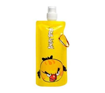 Portable Angry Bird Water Bottle - Yellow