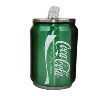 Coca Cola Can Water Drinking Bottle - Green