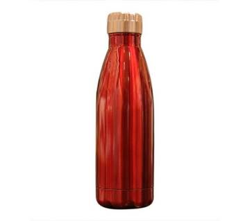 Stainless Steel Water Bottle - Red