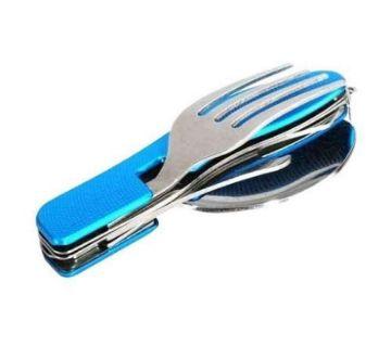 Multi Tool Fork Spoon - Blue
