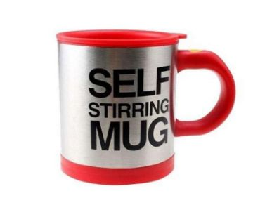 Self Stirring Coffee Mug - Red