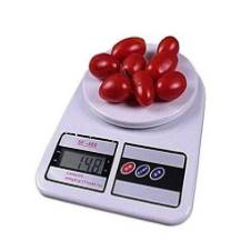 Multifunctional Kitchen Scale 5 KG - White