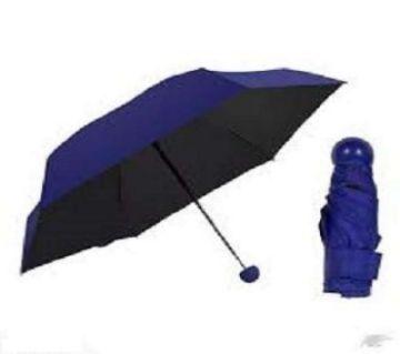 Fashion Foldable Capsule Shape Umbrella - BLUE