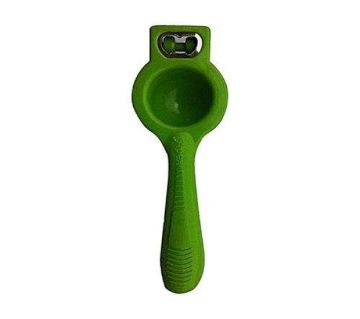 Lemon Squeezer With Bottle Opener - Green