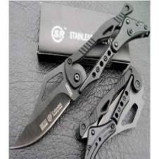 Foldable Columbia River Knife - black